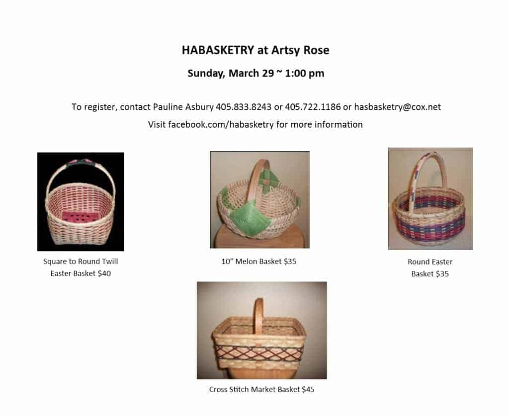 Habasketry Flier March 29