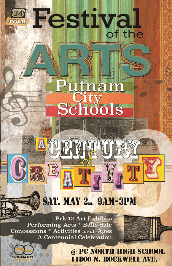 Festival of the Arts at Putnam City North High School 2015
