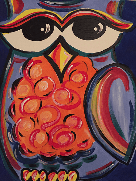 owl-painting