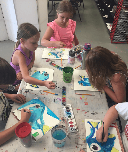 Disney Art Camp July 2017 Artsy Rose Academy