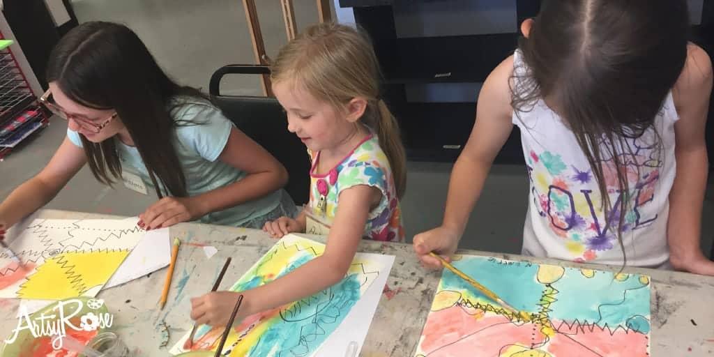 Homeschool classes in Oklahoma City October 2018 at Artsy Rose Academy