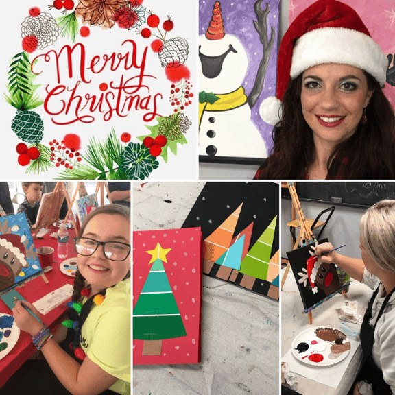 Okc Christmas Events.Christmas Crafts Art Class Age 5 To Adults Sunday S
