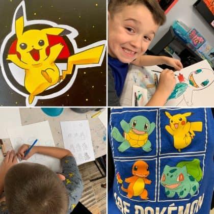 Pokemon Krafty Kids