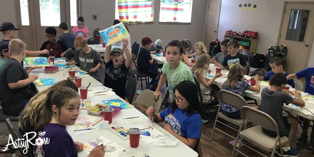Daycare Field Trip Art Activities Oklahoma Artsy Rose Academy