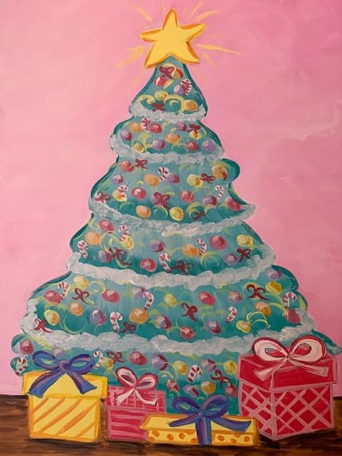 O Christmas Tree Social Painting Class