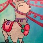 Valentine Llama