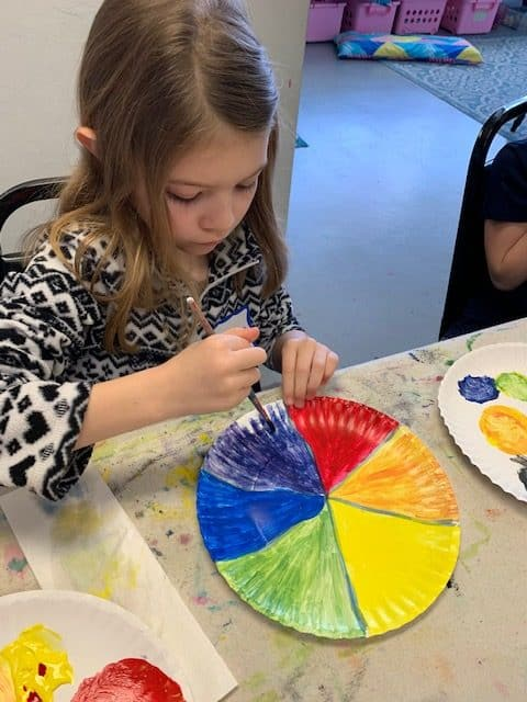 Painting Color Wheel