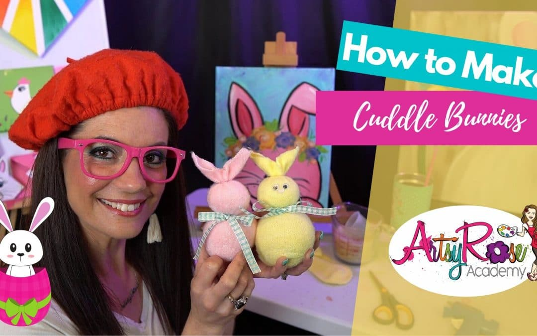 How to Make a Crafty Cuddle Bunny with Artsy Rose