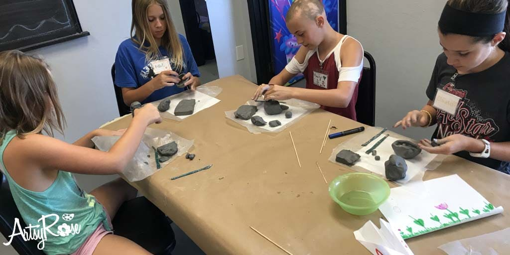 Sold OutAcrylics, Clay, Pastels, & Watercolors Art Camp July 2020