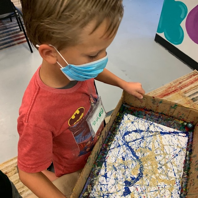 """UpcomingArt Enrichment """"In Person"""" Tuesday Art Classes May 2021"""