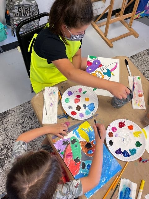 """UpcomingFALL Art Enrichment """"In Person"""" September Classes 2021"""